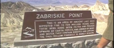 The second lowest 'Zabriskie Point.'