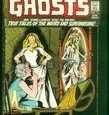 This is a bit of a variation of the first cover of Ghosts, as featured here earlier. DC still had romance comics for girls back in the day, so maybe they figured this sort of cover would get crossover business?